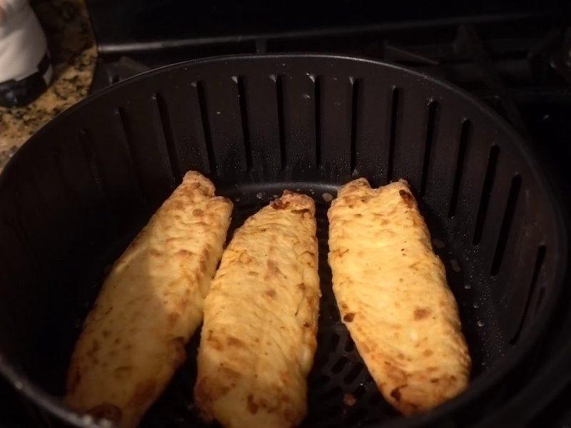 air fryer frozen tilapia