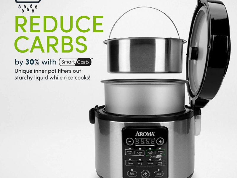 Aroma Professional Smart Carb Rice Cooker Review